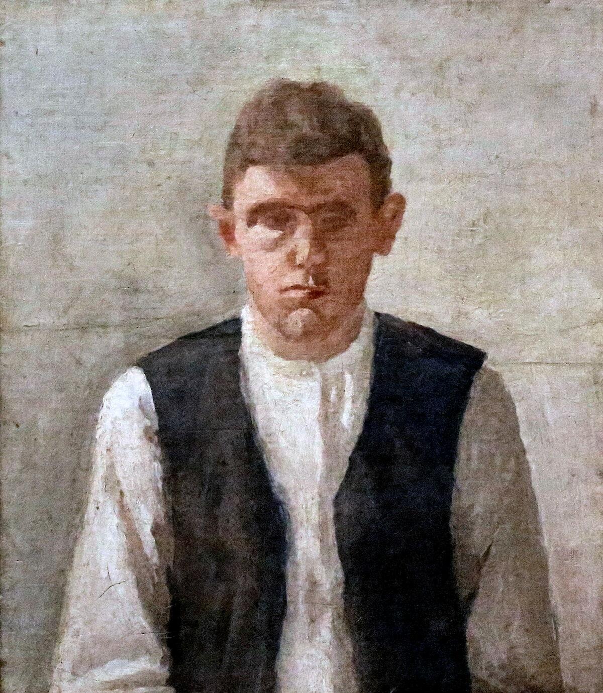Giorgio Morandi  Self Portrait 1924  Trivium Art History