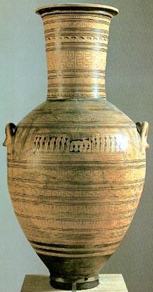 Greek Art Amp Architecture Geometric Pottery