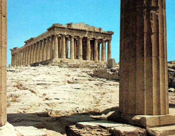 Acropolis Of Athens Parthenon Propylaea