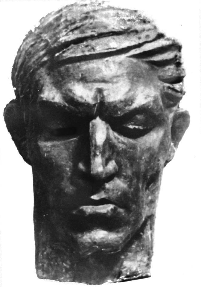 Портрет поета-дисидента Василя Стуса. 1968. Колекція НХМУ, Київ