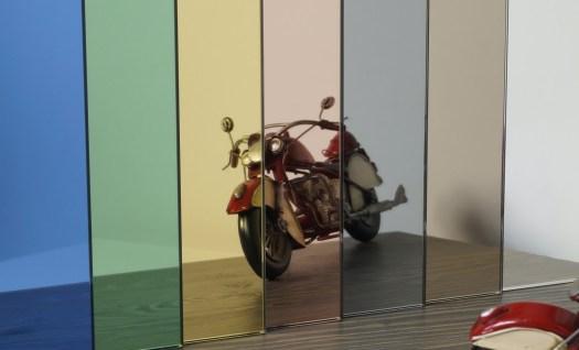 Kleurrijke spiegels