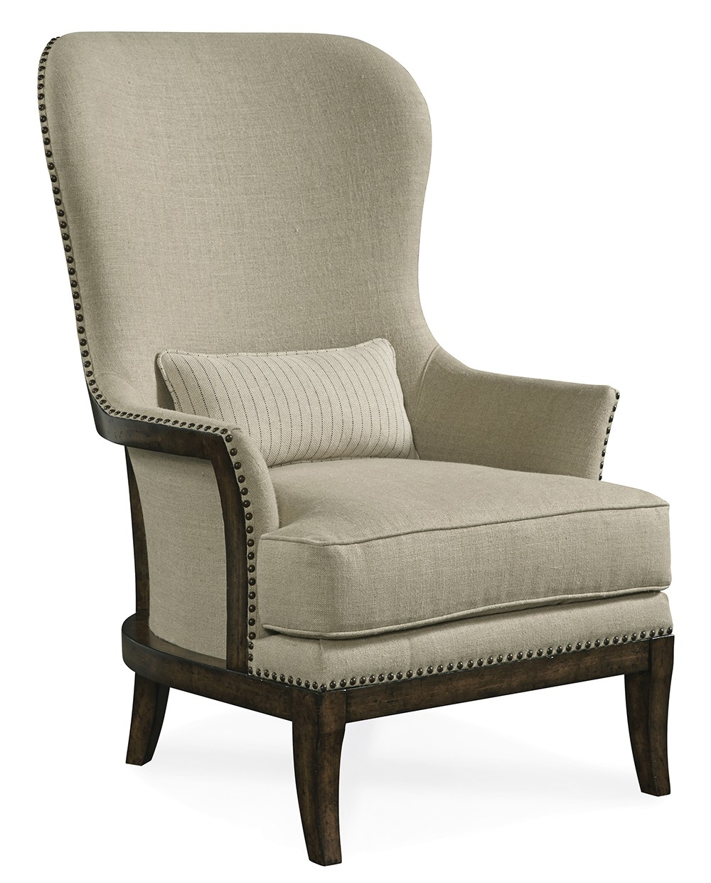 Curved Back Chair Logan Exposed Wood Back Accent Chair Arroyo