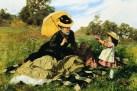 Benczúr Gyula: Koszorút a mamának