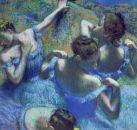 Edgar Degas: Kék táncosok