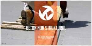 Beton Non Struktural