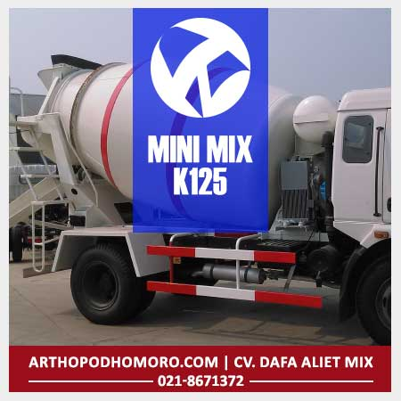 Minimix Beton Mutu K175