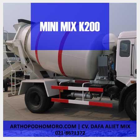 Minimix Beton Mutu K200
