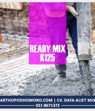 Beton Readymix Mutu K125