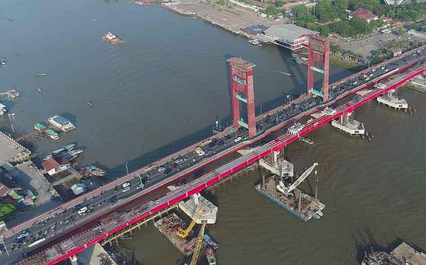 10 Daftar Jembatan-Jembatan Panjang di Indonesia