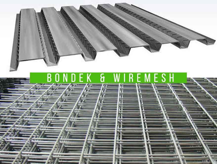 Spesifikasi Wire Mesh dan Bondek untuk Pengecoran CV