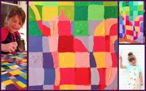 Artist Chuck Close Inspired