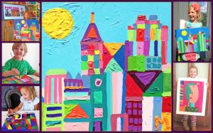 Artist Paul Klee Inspired