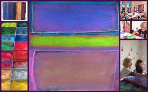Artist Mark Rothko Inspired