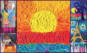 Artist Vincent van Gogh Inspired