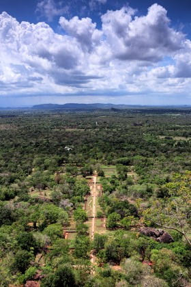 Sigiriya View on Gardens