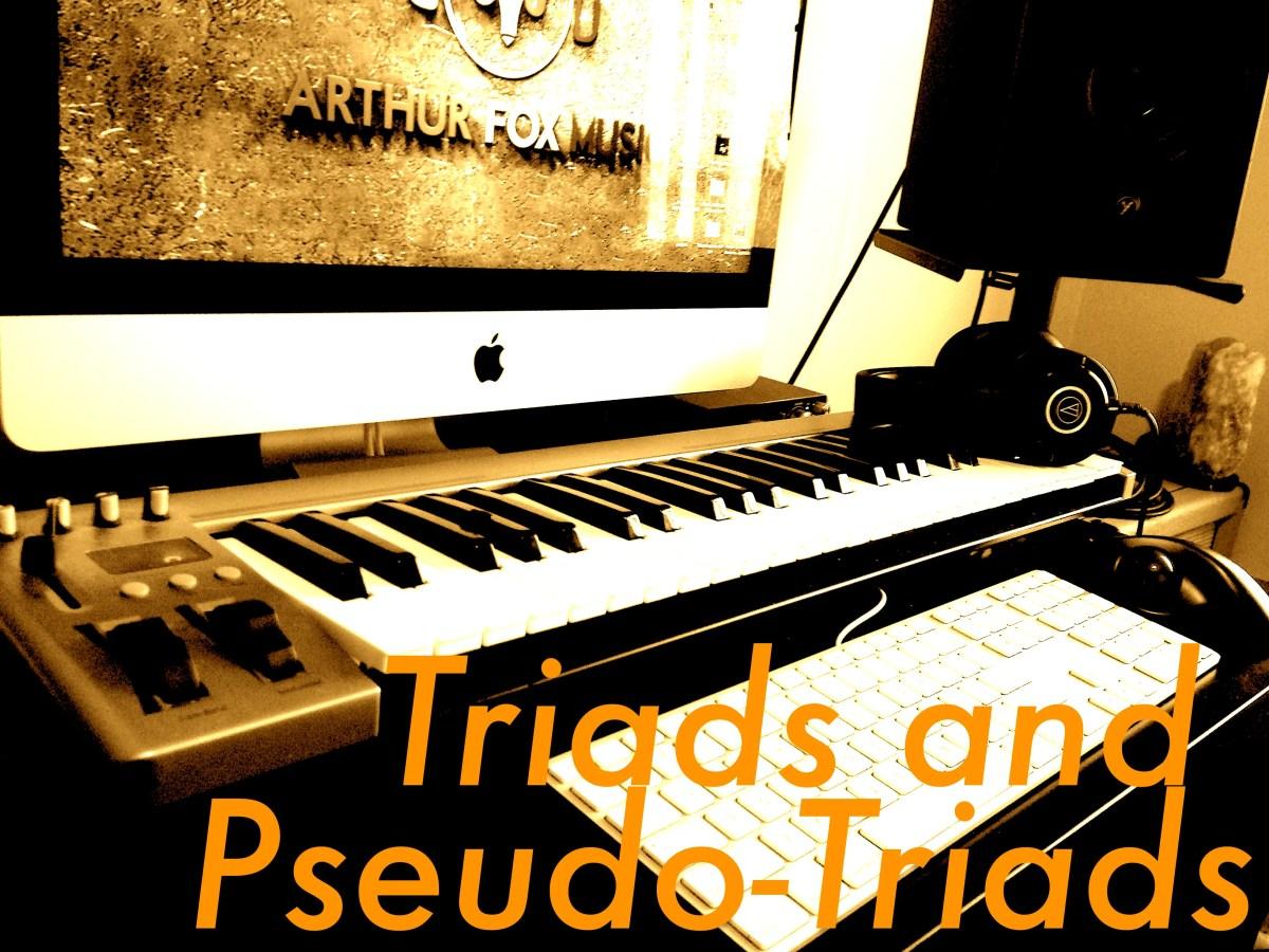 Triads and Pseudo-Triads of Music