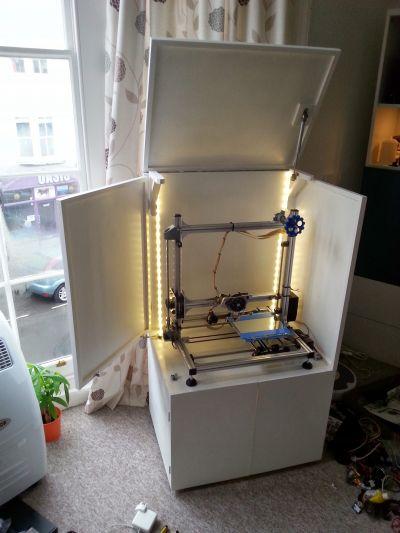 3D Printer cabinet  Weekend build  ArthurGuycouk