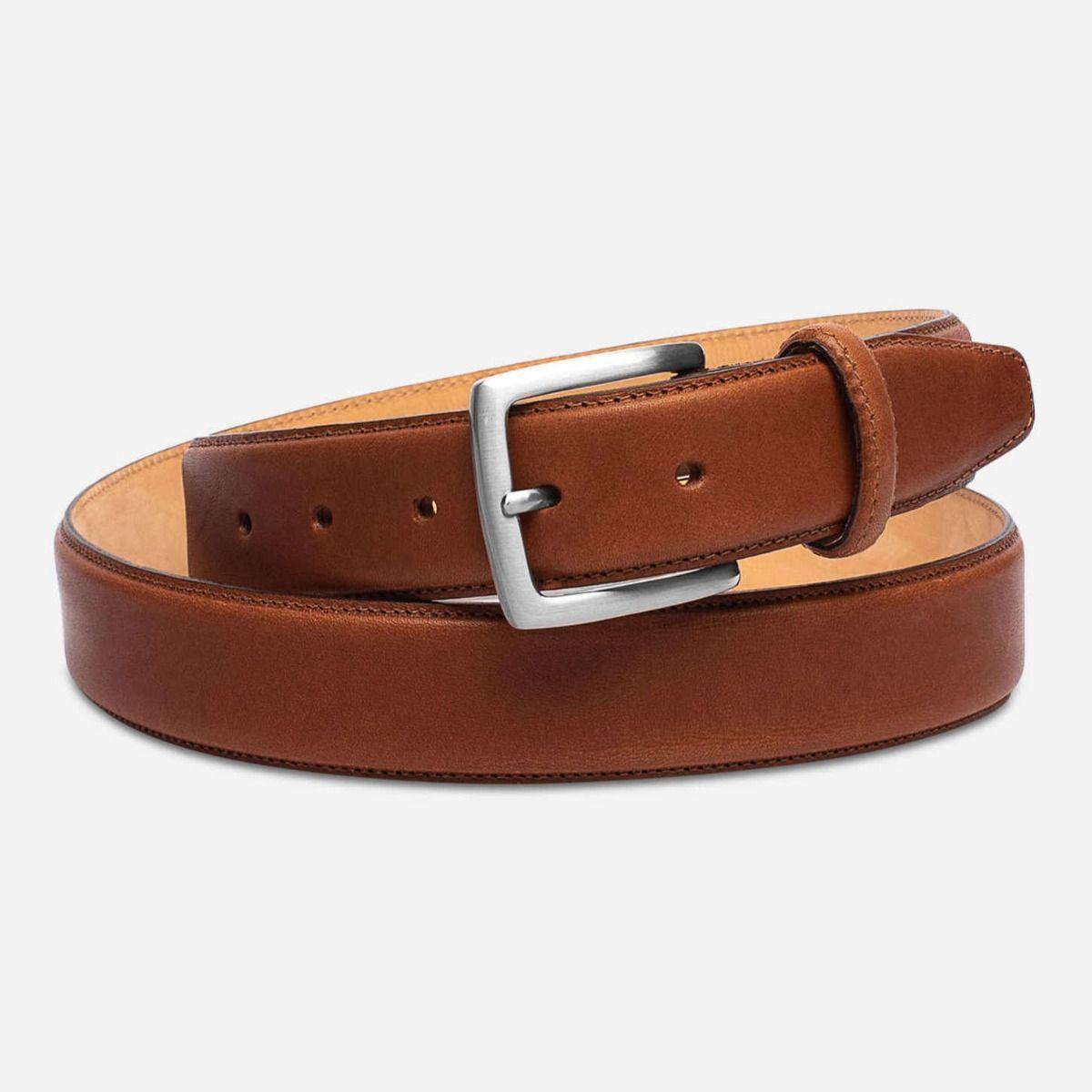 matt brown leather mens