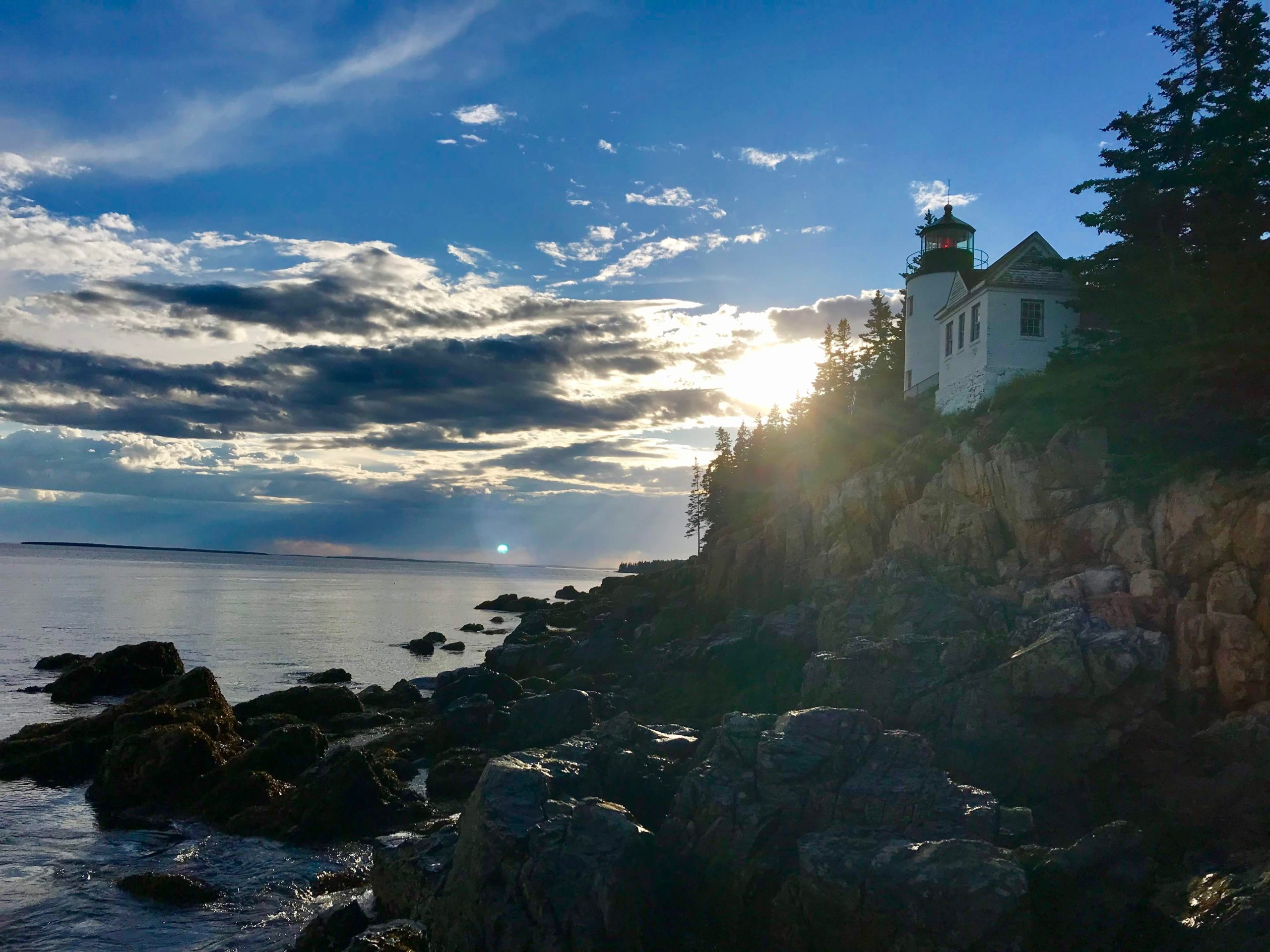 the bass harbor head lighthouse phare