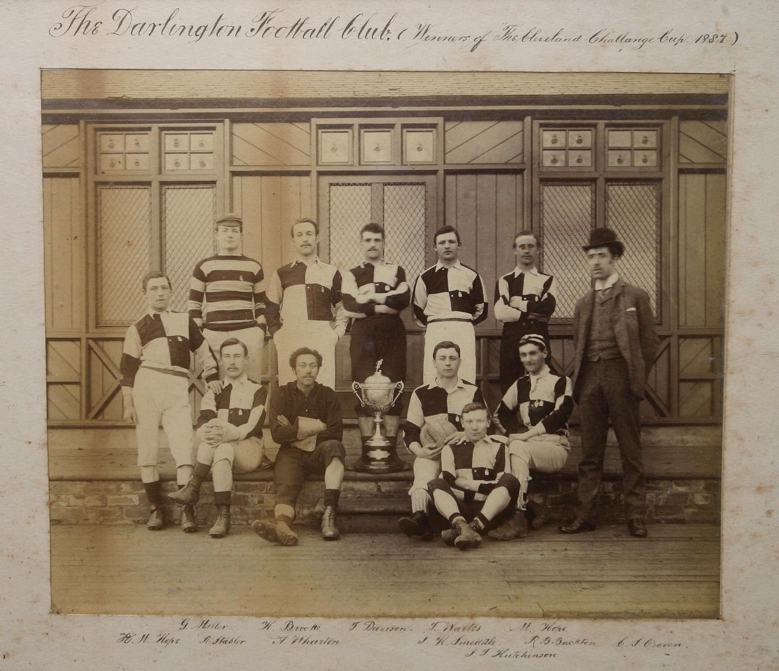 Darlington FC featuring Arthur Wharton