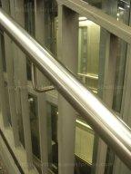 Rampe sur ascenseur