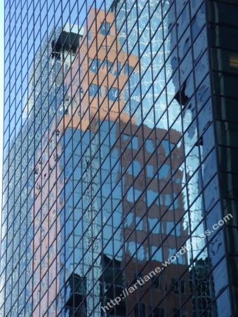 reflet de façade