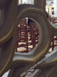Oeil de fuite en chaises