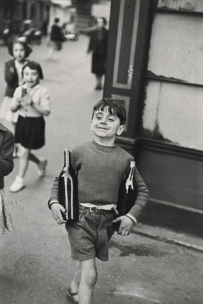Καρτιέ-Μπρεσόν, Rue Mouffetard, 1954