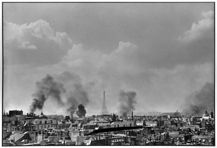 Καρτιέ-Μπρεσόν, Παρίσι, 1944