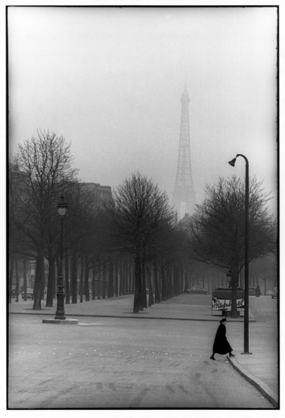 Καρτιέ-Μπρεσόν, Παρίσι, 1954