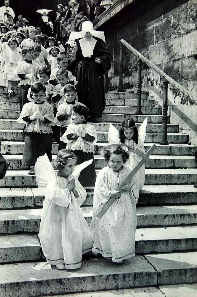 Καρτιέ-Μπρεσόν, Παρίσι, 1955