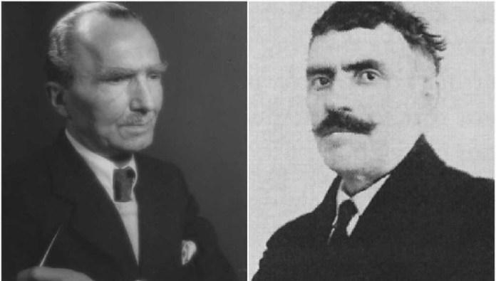 Νίκος Καζαντζάκης και Αλέξης Ζορμπάς