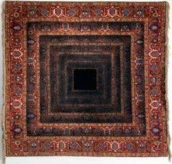 Just Emptiness. Handmade woolen carpet. 150X150 cm. 2014