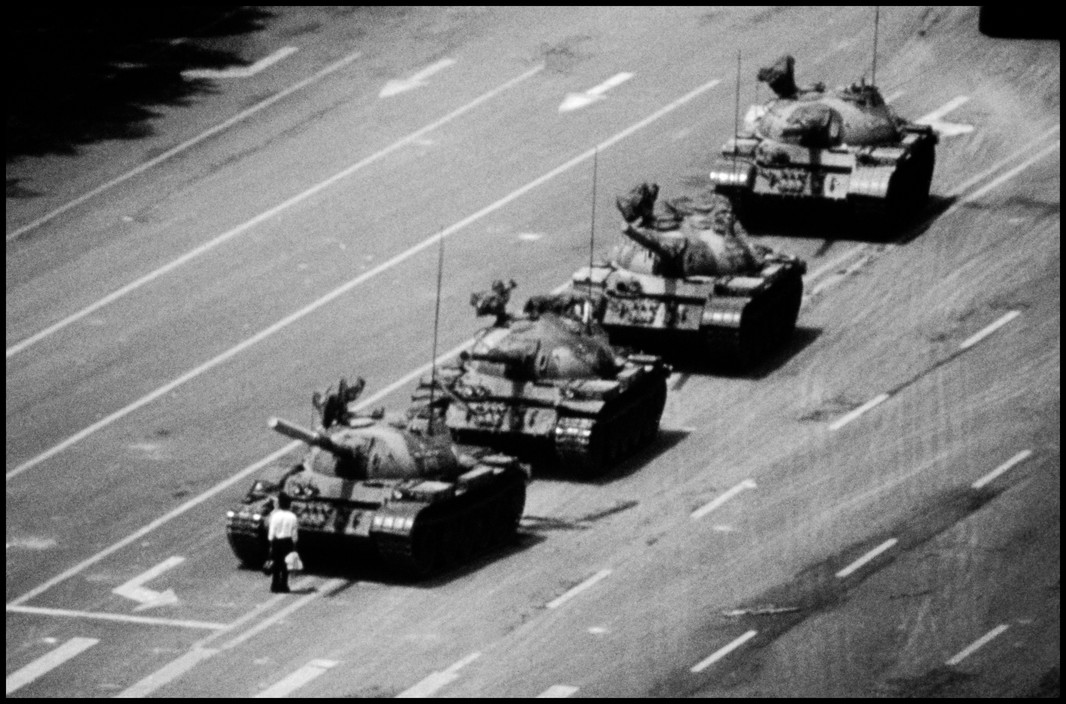 Tank man, 1989. Crédit: Franklin Stuart