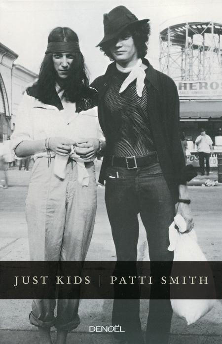 Page couverture de Just kids de Patti Smith Source: site web du FIL