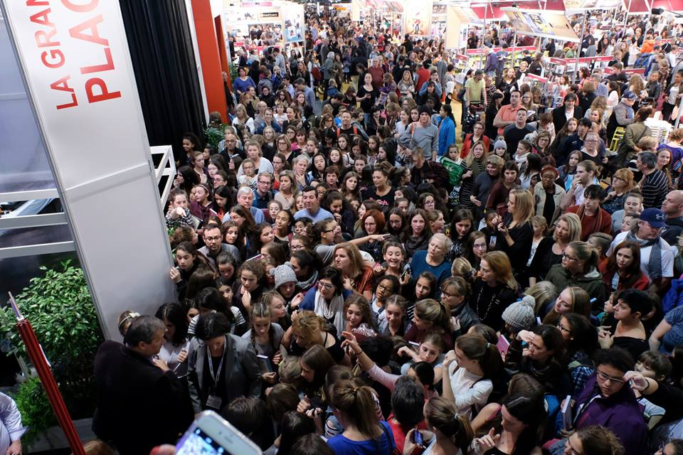 La foule au Salon du Livre de Montréal Source: page Facebook du Salon du livre de Montréal