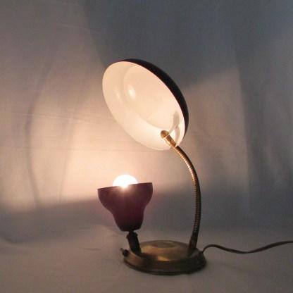 desk lamp-reflector-vintage