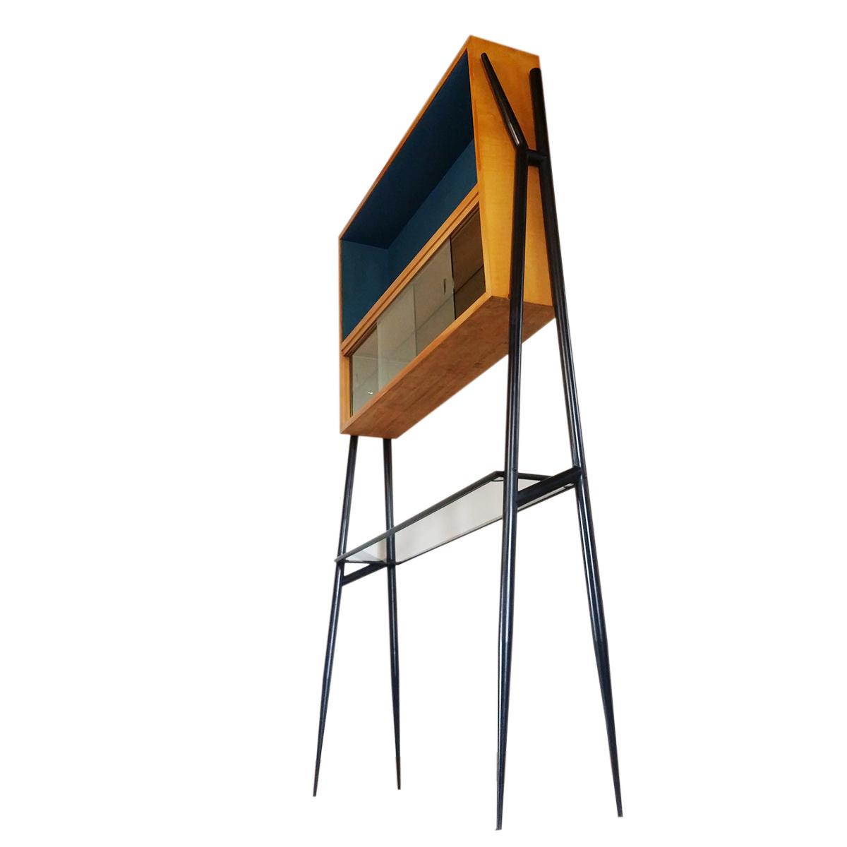 cabinet-compass-feet-bar-console-vintage-italian-gio-ponti-