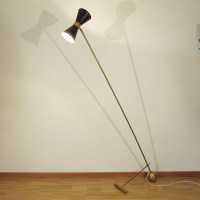 Italian 1950 diabolo floor lamp  Artichoke Vintage Furniture