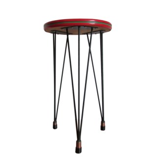 tripod hairpin vintage table