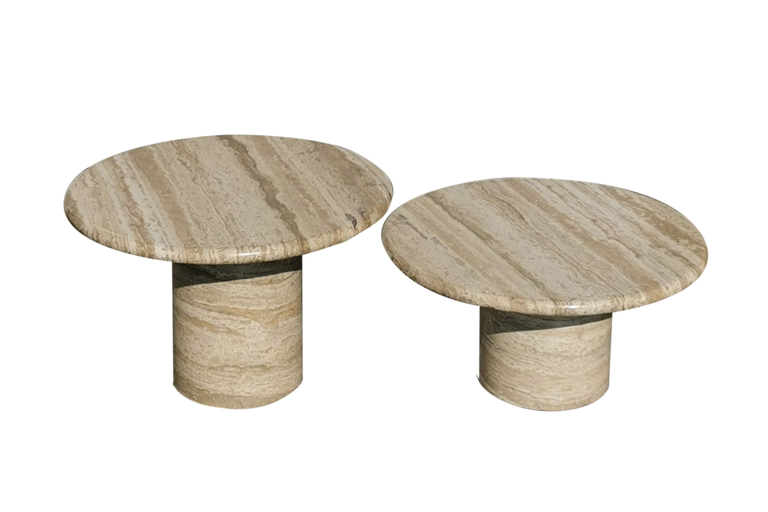 travertine coffee tables