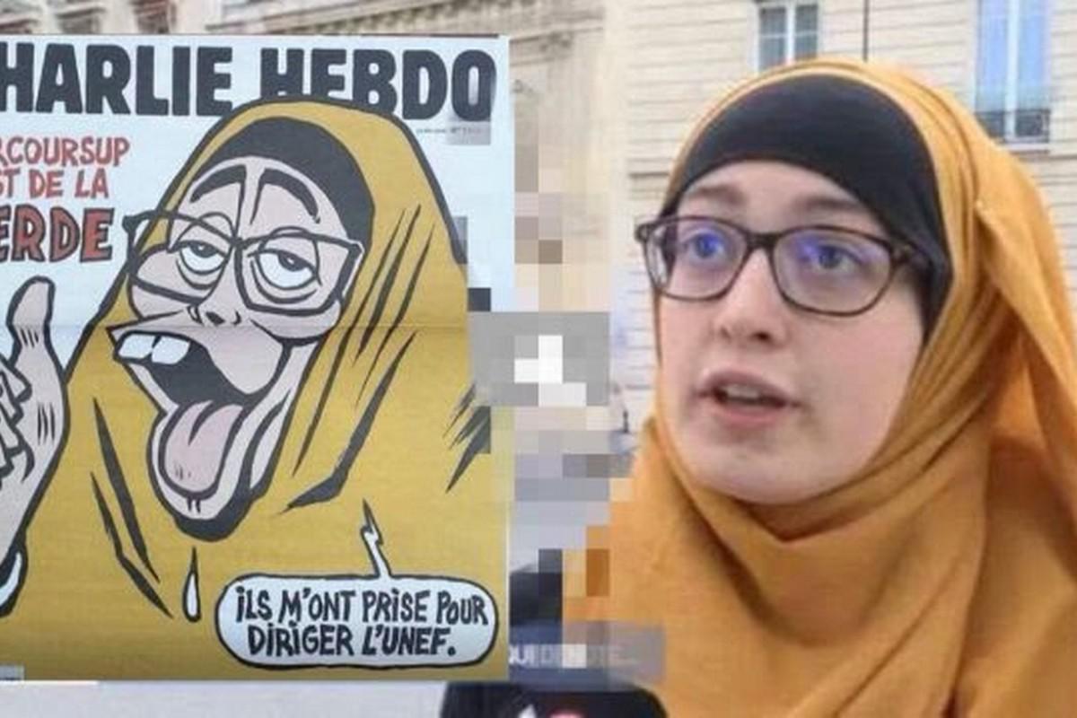 Charlie Hebdo Joins Media Campaign Against Muslim Girl In