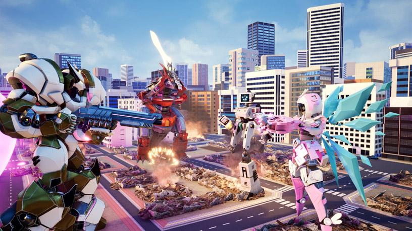 巨型機械人對戰遊戲考驗四人合作 - 香港高登