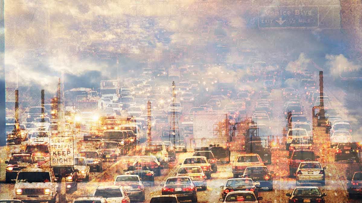 is summer air pollution
