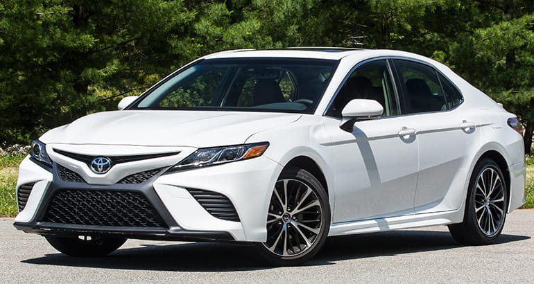 Redesigned 2018 Toyota Camry Adds Flavor, Inside And Out