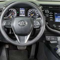 All New Camry Interior Perbedaan Grand Avanza E Std Dan Redesigned 2018 Toyota Adds Flavor Inside And Out Consumer Se