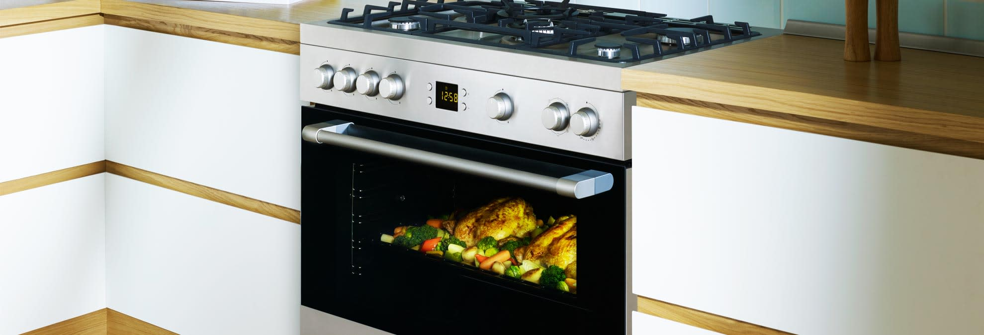 best kitchen stoves porcelain tile floor ranges with big ovens consumer reports