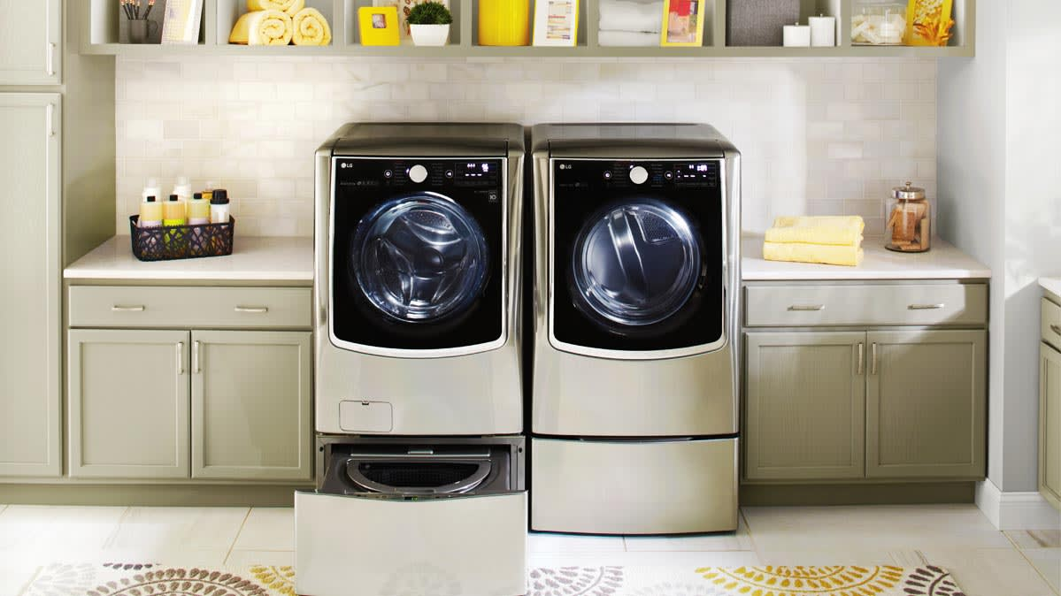 The Stainless Steel Look Hits the Laundry Room  Consumer
