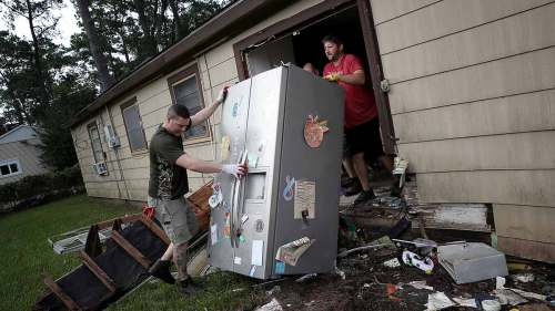 small resolution of when you return home after flooding your instinct might be to rush in and check on the extent of the damage but don t appliances might have shifted and