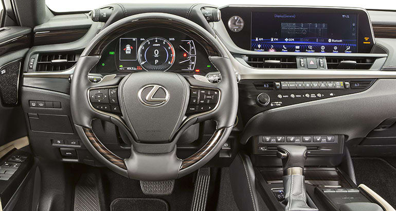 All New 2019 Lexus Es Gets Bigger And Sportier Consumer Reports
